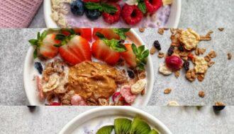 3 FIT śniadania na słodko w 15 min.