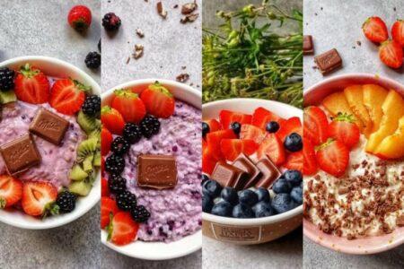 Dietetyczne śniadania - 4 FIT przepisy